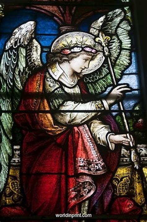 17 Best Images About Angel In Stained Glass! On Pinterest