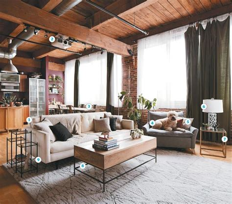 Apartment Home Living Loft Living For Newlyweds Home Living Pinterest