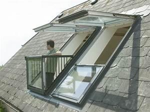 Dachausbau Mit Fenster : dachfenster mit austritt von velux eine bersicht wand ~ Lizthompson.info Haus und Dekorationen