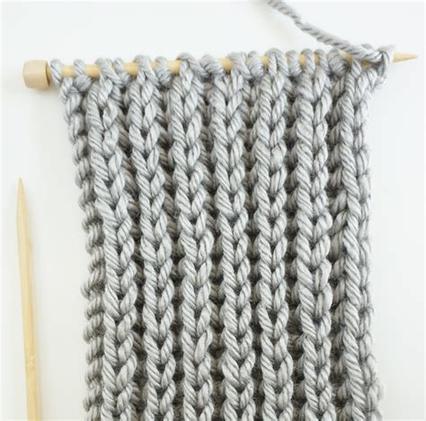 knit  infinity scarf  fisherman rib stitch