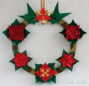 45 best images about Origami Wreath Fun on Pinterest