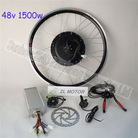 aliexpress buy powerful electric bike diy kit 1500w 48v brushless dc rear motor and 1800w