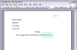 MLA Format in Text Citation for Websites