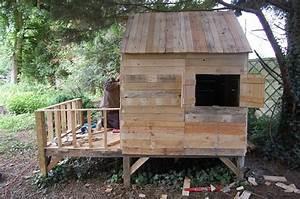 Plan De Cabane En Bois : plan cabane en bois palette ~ Melissatoandfro.com Idées de Décoration