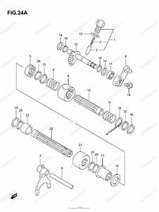 Suzuki Atv 2003 Oem Parts Diagram For Gear Shifting  2  Model K4  K5  K6  K7