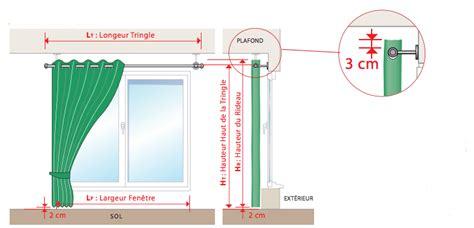 tenture plafond chambre comment mesurer votre rideau avec oeillets