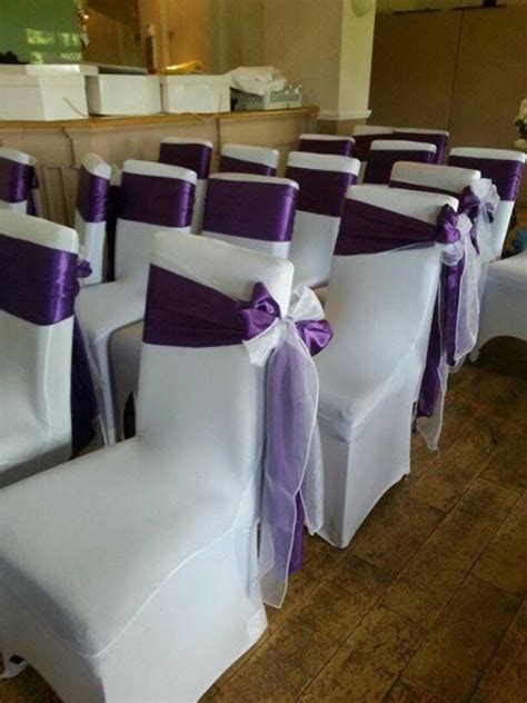 1000 ideas about chair bows on wedding chairs