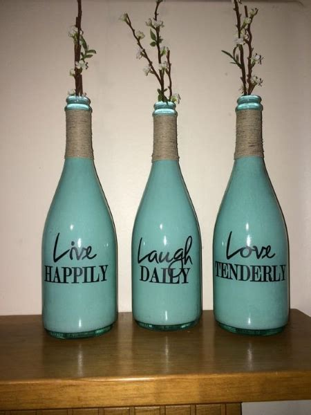 60 diy glass bottle craft ideas for a stylish home pink lover