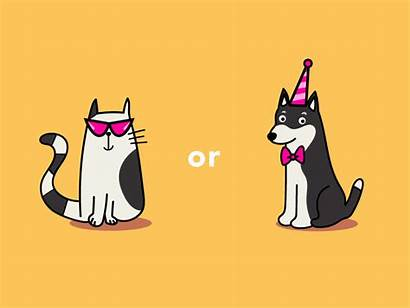 Cat Dog Cartoon Animated Gifs Derpy Cool