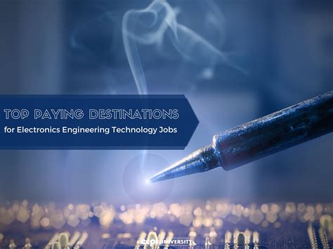 top paying destinations  electronics engineering