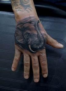32+ Elephant Tattoos On Hands