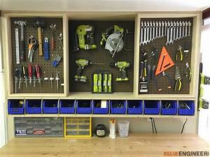 Tool Storage Wall Cabinet » Rogue Engineer