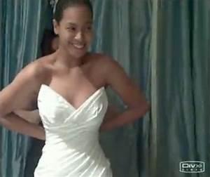 beyonce wedding dress unveiled video huffpost With beyonce wedding dress