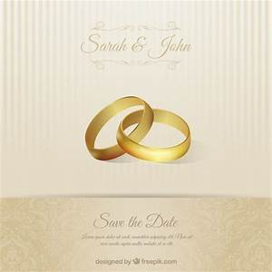 wedding invitation card with rings vector free download With pictures of wedding rings for invitations