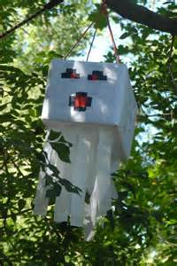 Minecraft Pinata Birthday Party