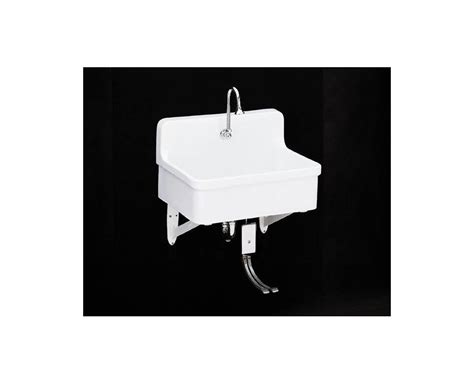 kohler gilford scrub up sink kohler k 12784 0 white gilford scrub up plaster sink with