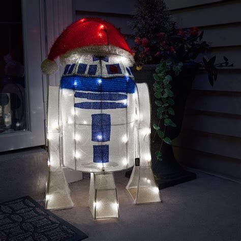 star wars   lighted indooroutdoor lawn ornament