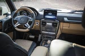 G 650 Mercedes Maybach Landaulet Interior