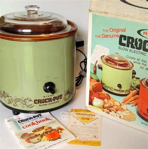 our nostalgic memories 1971 crock pot by rival