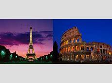 Paris vs Rome Guess This City