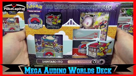 pokemon cards 2016 world chionships mega audino ex deck