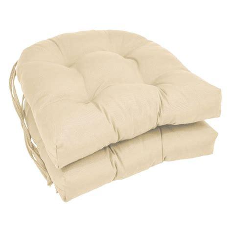 blazing needles  shape  dining chair cushion  ties
