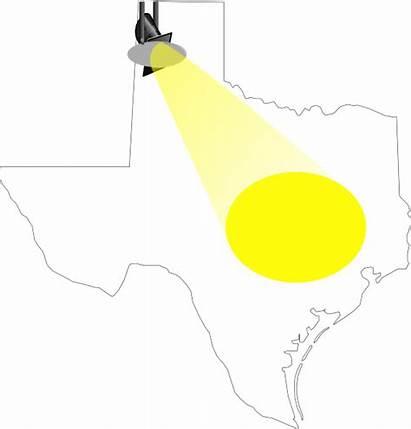Spotlight Texas Clip Clipart Cliparts Clker