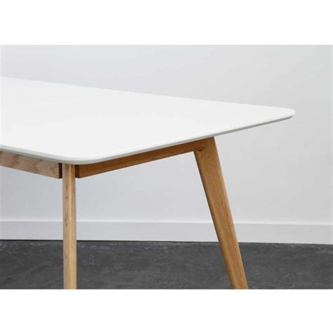 canape blanc d angle table à manger scandinave en bois skoll by drawer