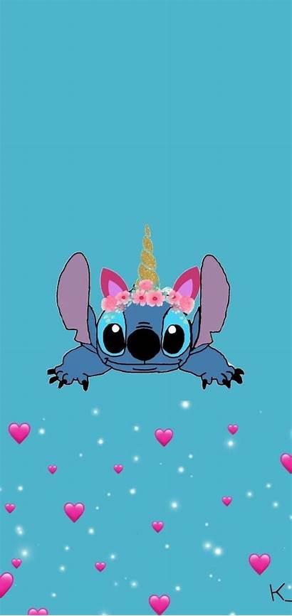 Stitch Wallpapers Lucu Disney Lilo Iphone Aesthetic