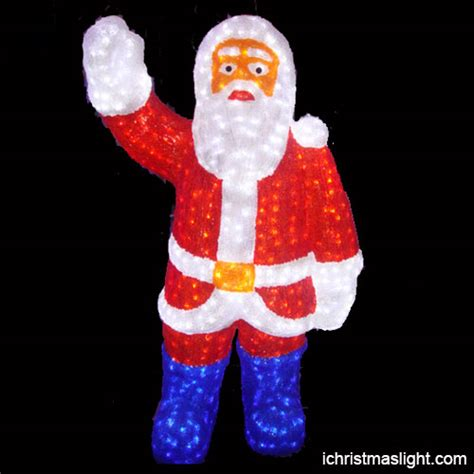 outdoor lighted santa claus made in china ichristmaslight