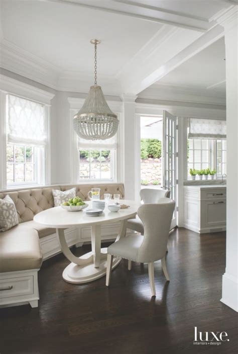 bright breakfast nook   prefer