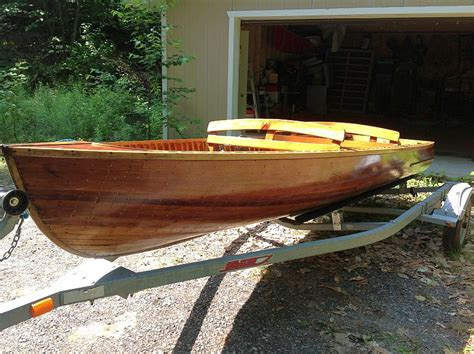 Boat Motor For Sale Peterborough by Cedar Boat For Sale Port Carling Boats Antique
