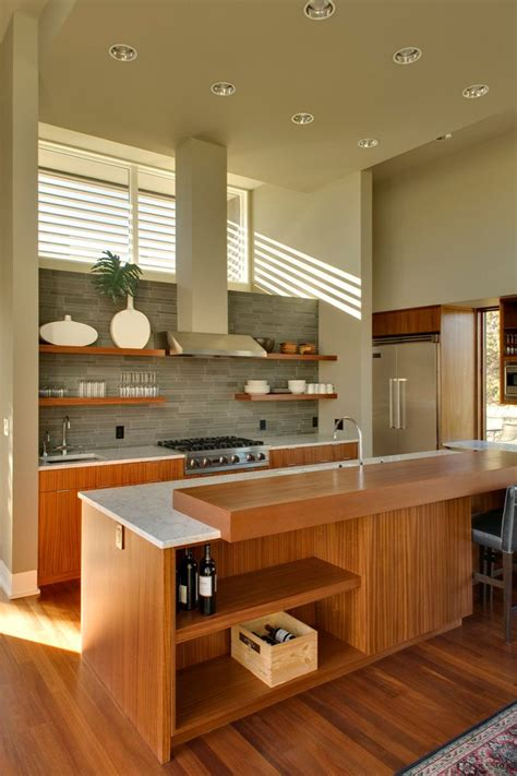 kitchen design idea  examples  open shelving