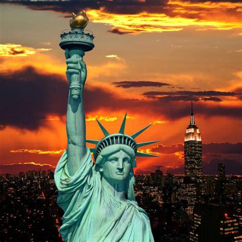纽约胜利女神高清图片_国外风景_高清图片下载_三联