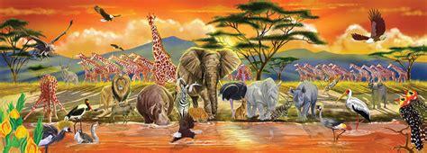 safari jigsaw puzzle puzzlewarehousecom