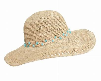 Hat Beach Hats Transparent Straw Sun Raffia