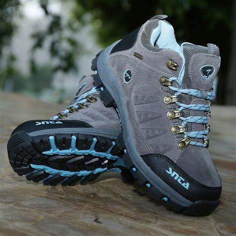 jual beli snta 607 sepatu gunung outdoor hiking waterproof harga murah baru sepatu sneakers