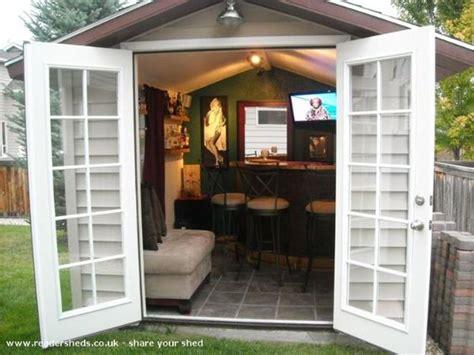 Backyard Pub by Awesome Backyard Sheds Turned Into Pubs Caves Backyards