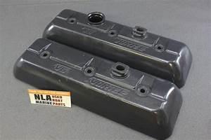 Mercruiser V6 4 3l 4 3lx Vortec Rocker Valve Covers 827150