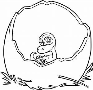 baby cartoon coloring pages - the good dinosaur disney baby arlo cartoon coloring pages