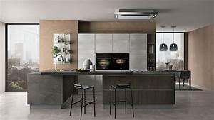 20 modelli di cucine bianche e grigie moderne for Cucina moderna grigia