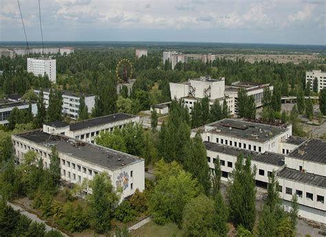 Showing why it was so vulnerable to blowing itself up. Pripyat - Wikipedia