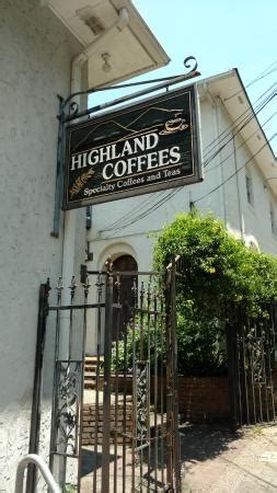 Since 1989, highland coffees, located at the historic north gates of lsu, has been a popular destination for faculty, staff, and students from the university, as well as customers from across baton rouge. HIGHLAND COFFEES, Baton Rouge - Menu, Prices & Restaurant Reviews - Tripadvisor