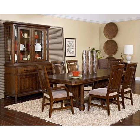 Broyhill Dining Room Furniture by 4364 531 Broyhill Furniture Estes Park Dining Room Trestle
