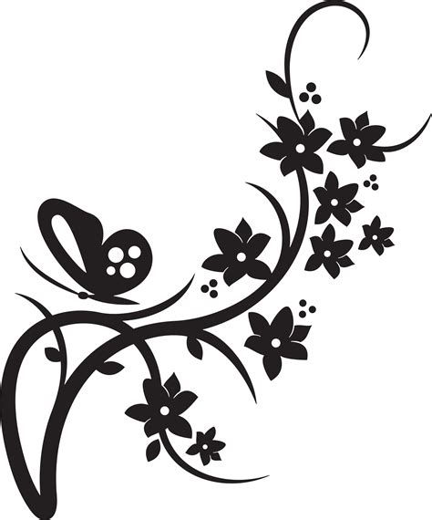 butterfly border black and white wedding clip borders clipart panda free clipart images