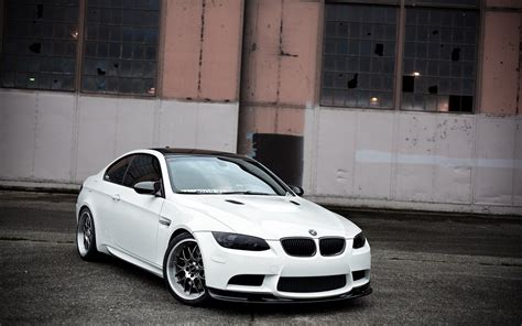 Bmw White Wheels Abandoned Bmw M3 Sport Cars Wallpaper