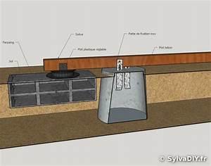 Lambourde Pour Terrasse Bois : 17 meilleures id es propos de plot terrasse bois sur ~ Premium-room.com Idées de Décoration