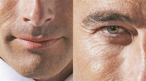 retouch mature skin  photoshop