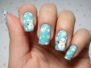 15 Christmas Snowman Nail Art Designs & Ideas 2016