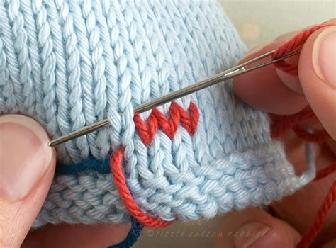 Duplicate Stitch (also Known As Swiss Darning) Is A Useful